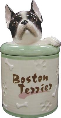 Boston Terrier Collectible Cookie Jar.