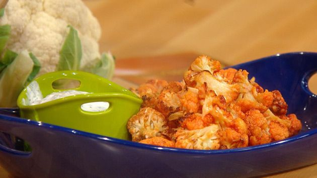 ... Meat free buffalo wings with ranch