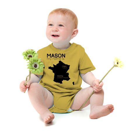 Baby name onesies 18 pinterest the hottest trend in baby clothing give the gift that they will never want to throw negle Choice Image