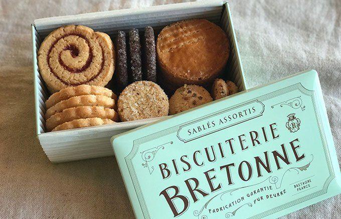 レア度高!まだ2カ所でしか買えない、「ブルトンヌ」の缶入りクッキー - ippin(イッピン)