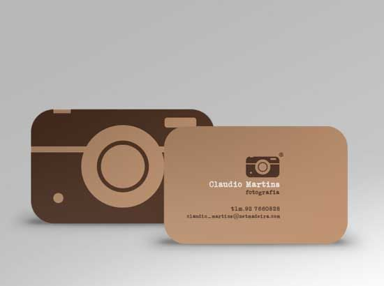 25 Most Unique Photography Business Cards