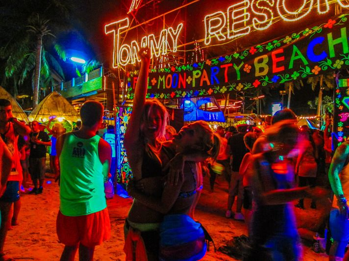 The Beginner's Guide to The Full Moon Party in Thailand | Southeast
