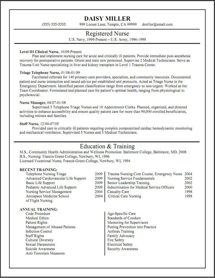 Tips to Edit Nurse Resume Templates Nursing resume