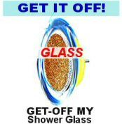 GET-OFF MY Shower Glass™ Soap Scum & Hard Water Limescale Remover for Use with Power Drills