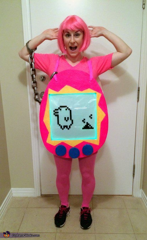 Pin for Later: 100+ Halloween Costume Ideas Inspired by the '90s Tamagotchi