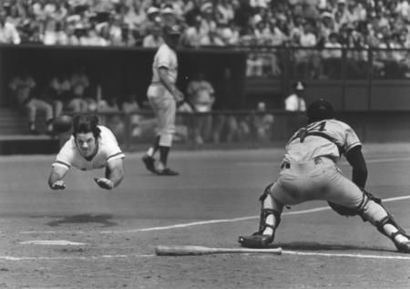 Pete Rose is the all-time Major League leader in hits (4,256), games played (3,562), at-bats (14,053) and outs (10,328). He won three World Series rings, three batting titles, one Most Valuable Player Award, two Gold Gloves, the Rookie of the Year Award, and made 17 All-Star appearances at an unequaled five different positions (2B, LF, RF, 3B & 1B).