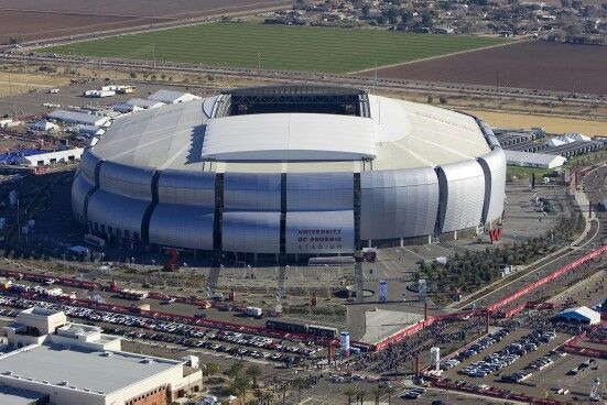 U of A Stadium - Home of the Arizona Cardinals