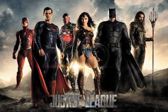 Plakat Justice League Characters 91,5x61 cm. Gdzie kupić? eplakaty.pl