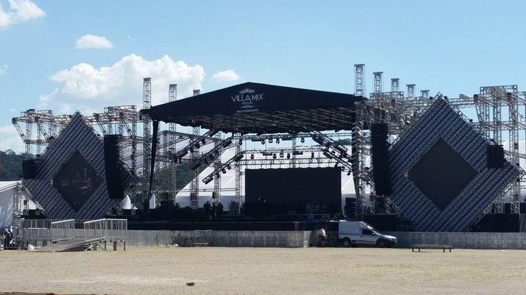 Quase tudo pronto para a edição belo-horizontina do maior festival de música sertaneja do país: Villa Mix. #VillaMix #CamaroteSense #sertanejo #bh by bastidoresdeminas