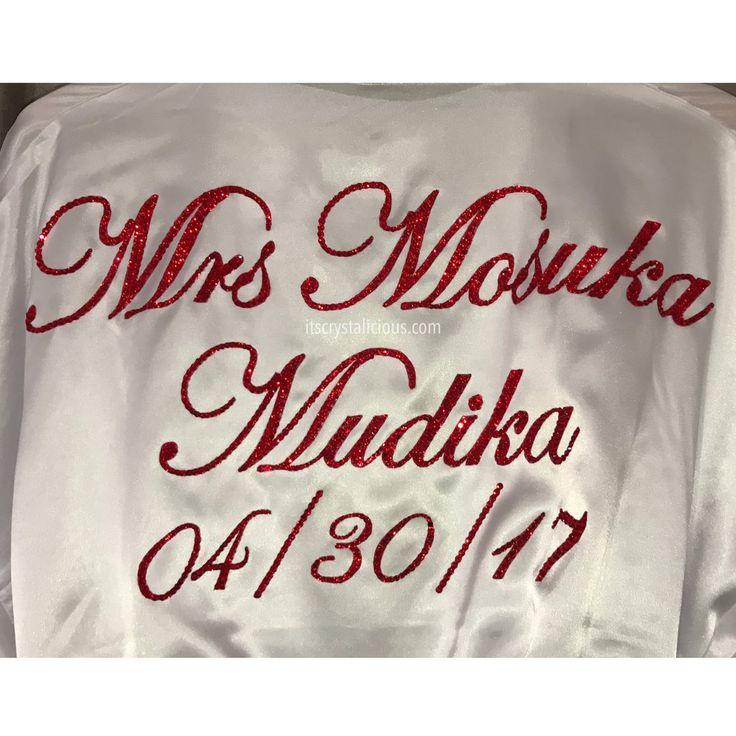 Crystalicious® SWAROVSKI® embellished Mrs (First