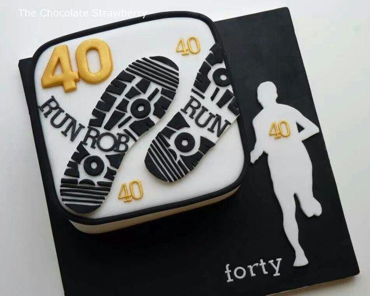 Running theme cake