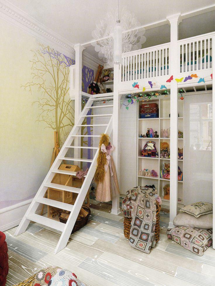 Mommo Design Loft Beds For Girls