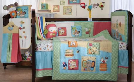 Hopscotch 6 Piece Nursery Set by Living Textiles - baby nursery products online