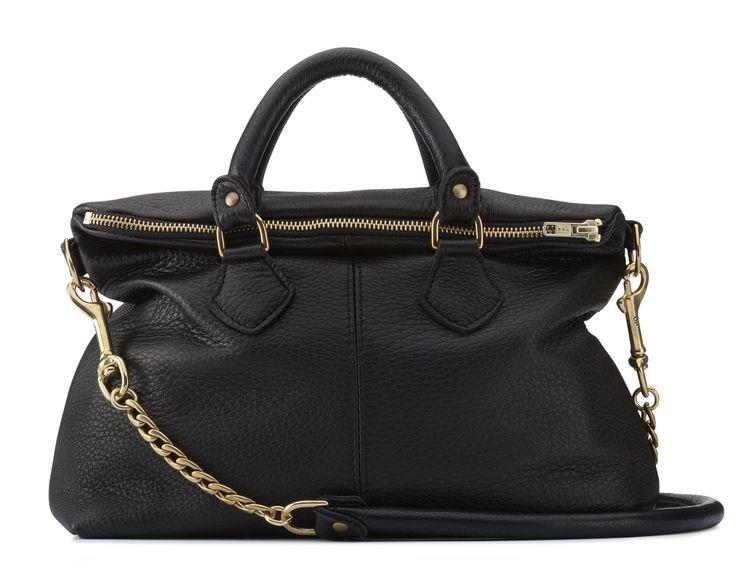 Mr Mini Robin Black Handbag