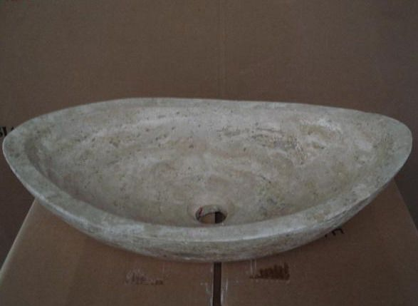 Alibaba グループ | AliExpress.comの 浴室の シンク からの トラバーチン石狩野船舶のバスルームのシンク寸法:20で幅×長さx136インで周りにシンクを必要としオーバーフロー非傘スタイルのドレイン、 は含まれておりませんそのようなこの自然石のシンクと若干異なる場合がありシンクシンクする&n 中の 100%自然トラバーチン石舟形カウンター シンク付き高研磨と すべて の男作る artworting ニース浴室gartern