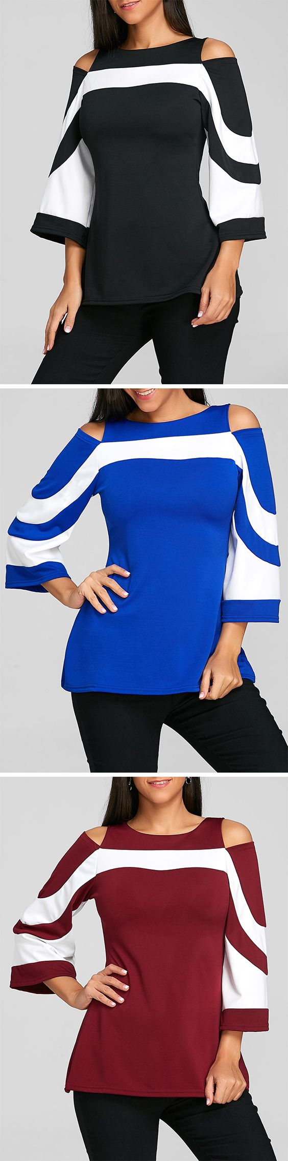 50% OFF Cold Shoulder Blouses,Free Shipping Worldwide.