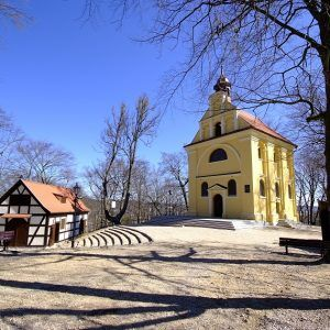 Calvary Wejherowo, northern Poland. The chapels of the Calvary in Wejherowo, founded in the 17th century, are a must see.