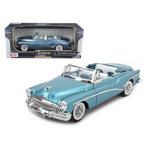 1953 Buick Skylark Blue 1/18 Diecast Model Car by Motormax