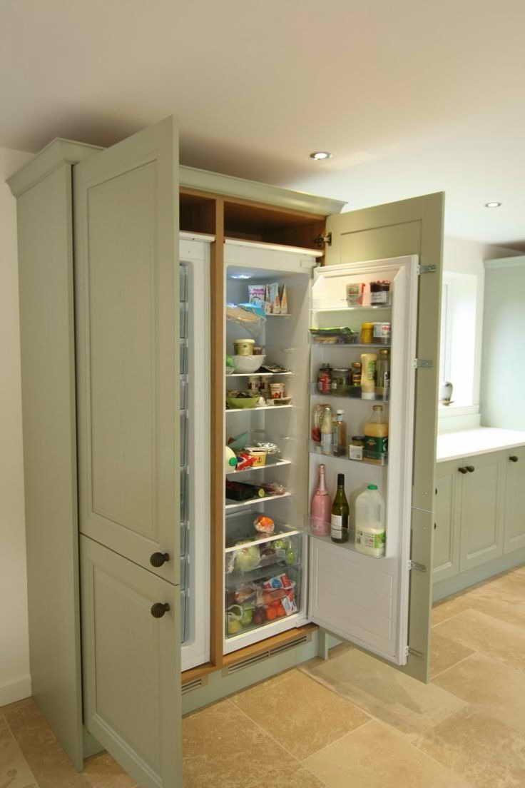 Integrated Fridge Cabinet Refrigerator Cabinet Integrated Fridge Wooden Cabinets