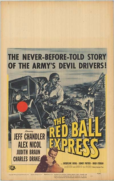 Red Ball Express movie posters at movie poster warehouse movieposter.com