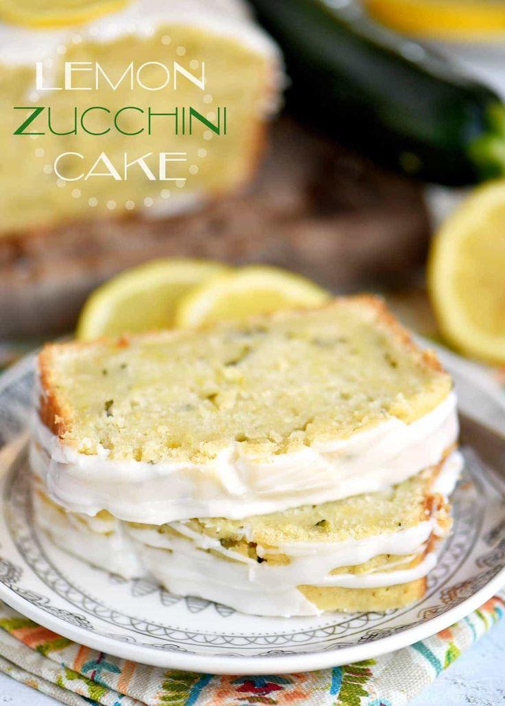 Lemon Zucchini Cake