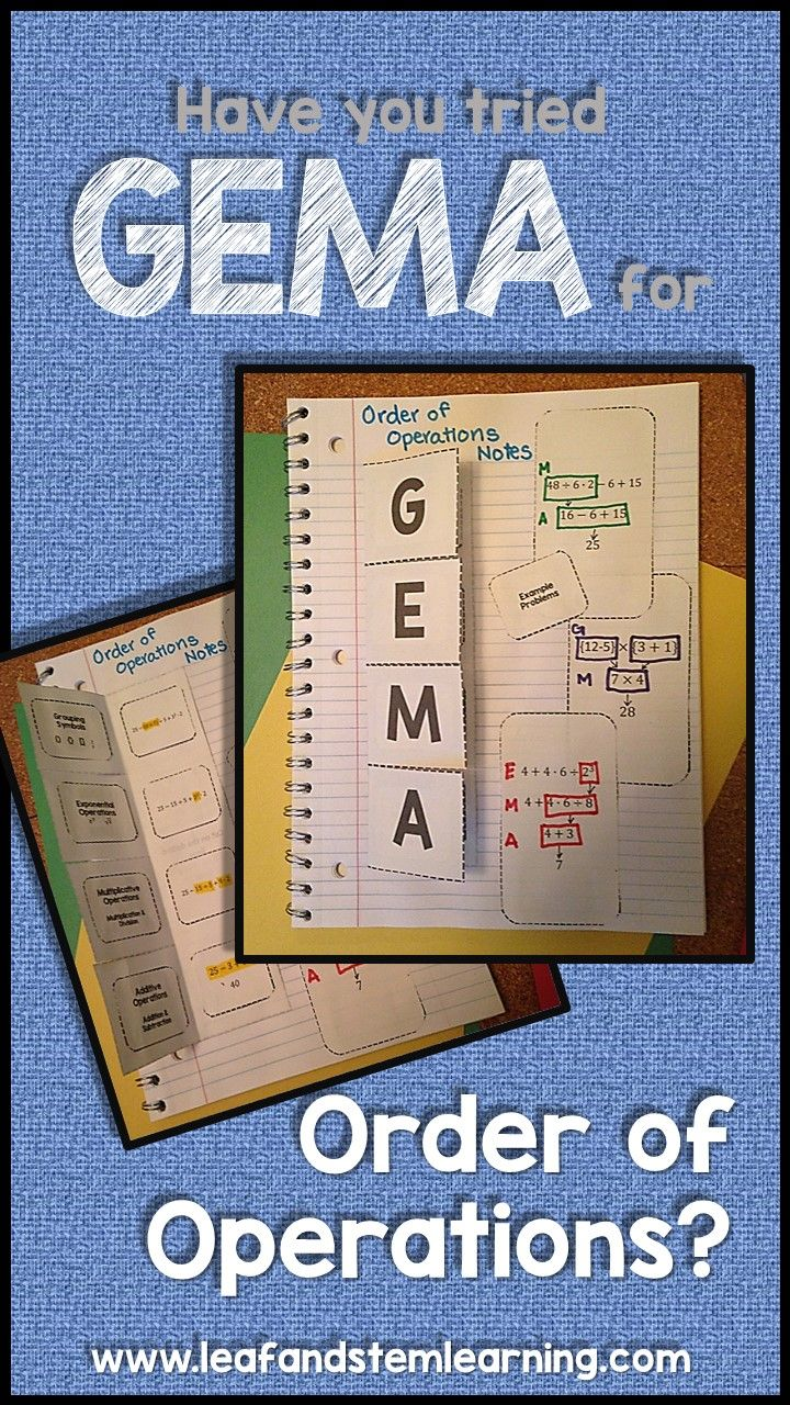 best images about algebra expressions and equations oh my order of operations using gema