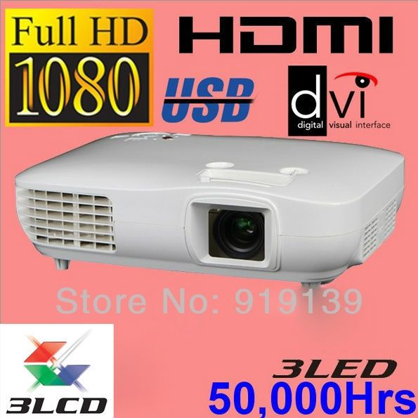 1149.99$  Buy now - http://alidff.worldwells.pw/go.php?t=1644229993 - New Large Image 3LCD 3LED Full HD Projector 1290X1080P  Video Proyector Home Cinema Computer Quality Clear Beamer Projektor
