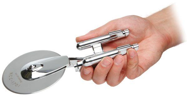 ThinkGeek :: Star Trek Enterprise Pizza Cutter