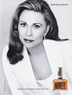 Faye Dunaway for Norell perfume
