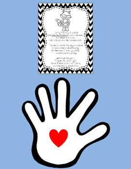 The Kissing Hand Poem Freebie