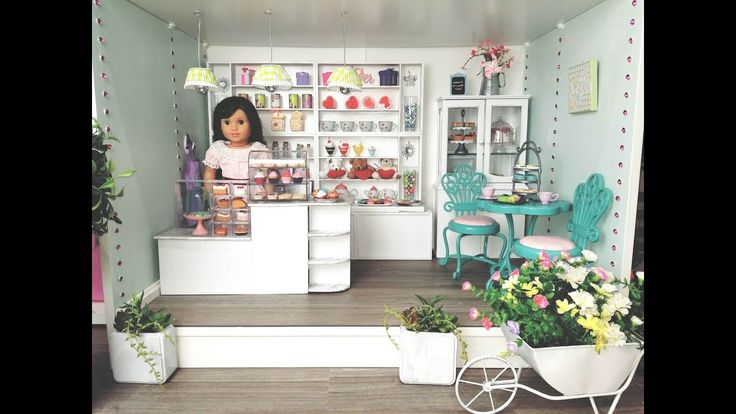 DIY: HOW TO BUILD AND SET UP A BAKERY FOR AMERICAN GIRL DOLL