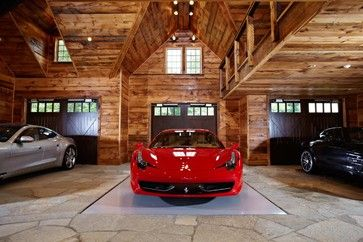 Garage Man Cave Ideas | Ultimate man cave and sports car showcase - traditional - garage and ...