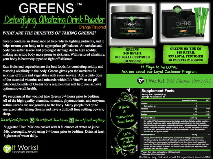 25 best images about it works greens on pinterest immune for It works global photos