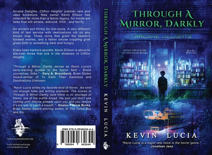 """""""Kevin Lucia writes my favorite kind of horror, the kind not enough folks are writing anymore."""" – Kealan Patrick Burke, Bram Stoker Award-winning author of The Turtle Boy and Kin.  THROUGH A MIRROR, DARKLY on Amazon: http://getbook.at/AmazonDarkly"""