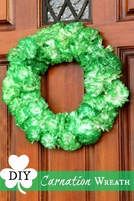 Top This Top That: St. Patricks Day Wreath