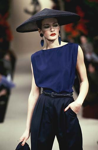 Yves Saint Laurent Fashion show Vintage