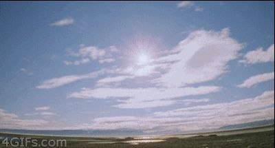 """A time lapse of a day in the arctic summer, when the sun does not set: 