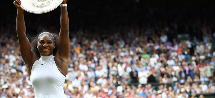 "♛Divalocity♛. ""Serena Williams makes history at Wimbledon"" Serena Williams beat Angelique Kerber in straight sets to win a seventh Wimbledon and record-tying 22nd grand slam title. Congratulations Champion!"