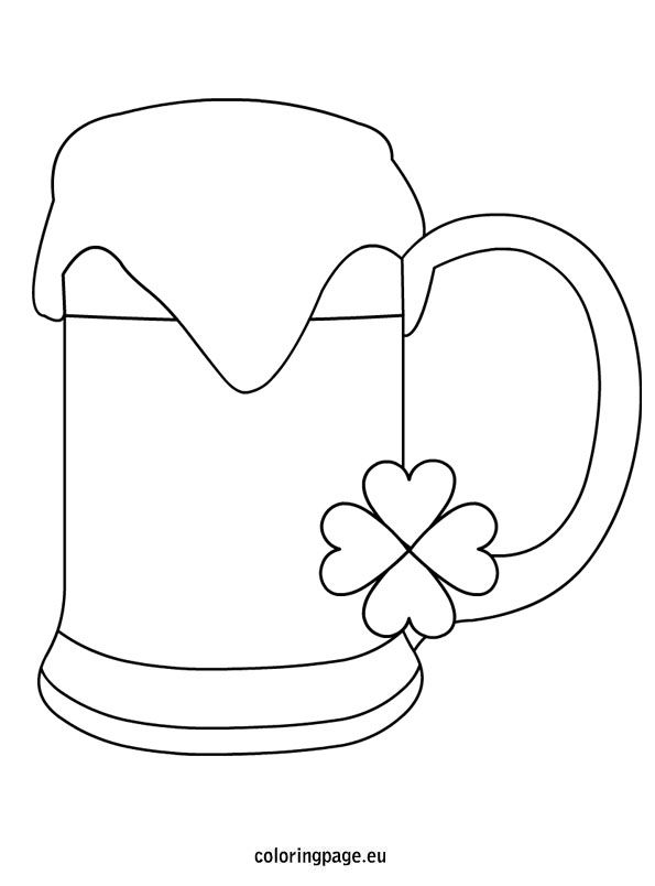 112 best St Patricks Coloring Pages images on Pinterest | Coloring ...