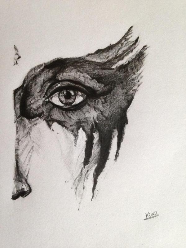 Commander Lexa's war paint by @Kimy37. Support the artist: twitter / instagram