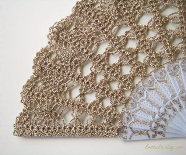 Hand Crochet : ... wedding ideas vintage rustic rustic chic gold crochet crochet hand