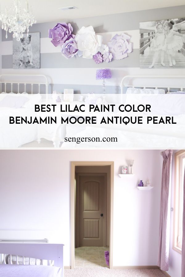 Benjamin Moore Antique Pearl The Best Subtle Lilac Paint Color