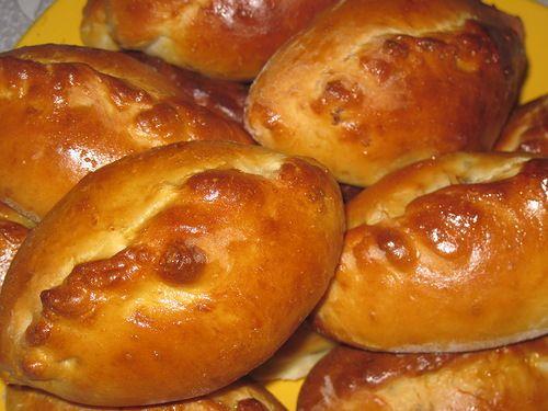 Пирожки с картошкой и грибами плюс тмин или кунжута