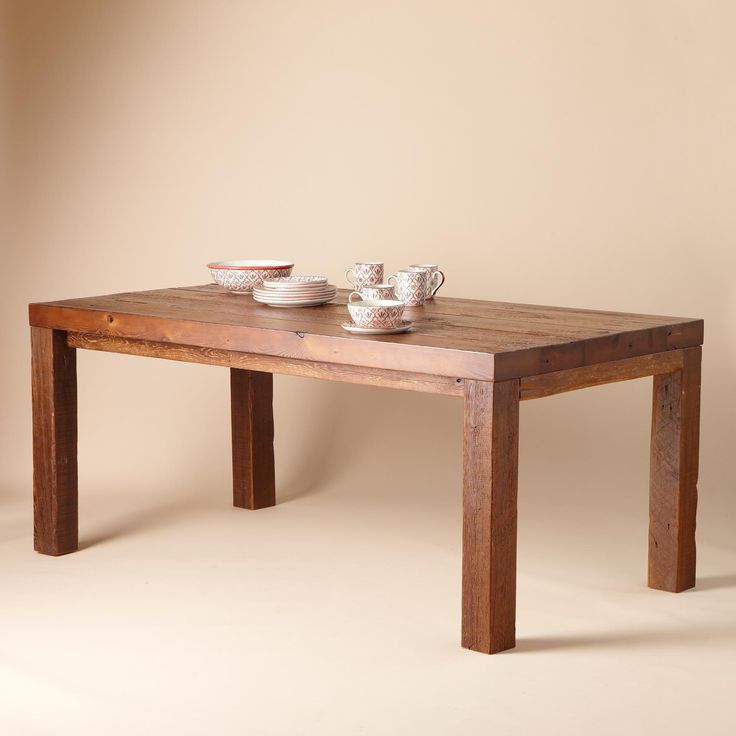 PLYMOUTH MODERNE DINING TABLE Optimum blend