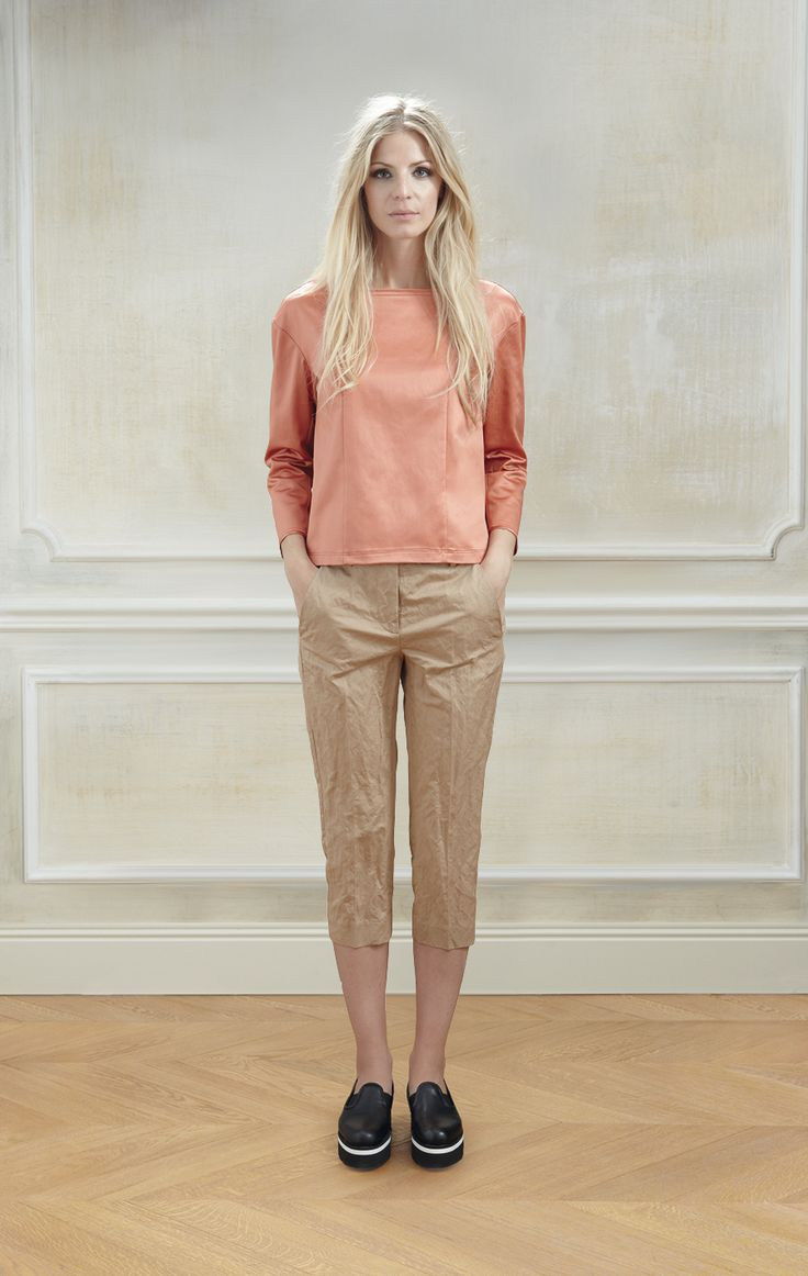 Lookbook Spring Summer Collection 2014 Fowles Shirt, Kaetlin Pant, Yonne Shoes