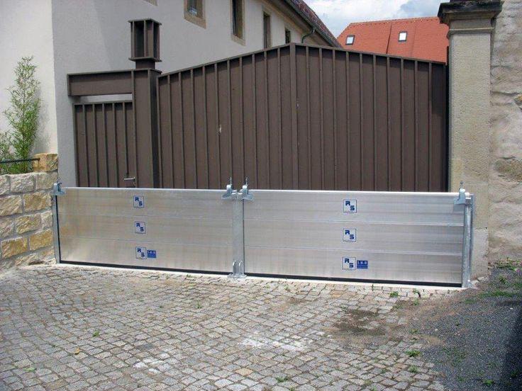 Hochwasserschutz: Dammbalkensystem ESH/LN - Hochwasserschutz-RS