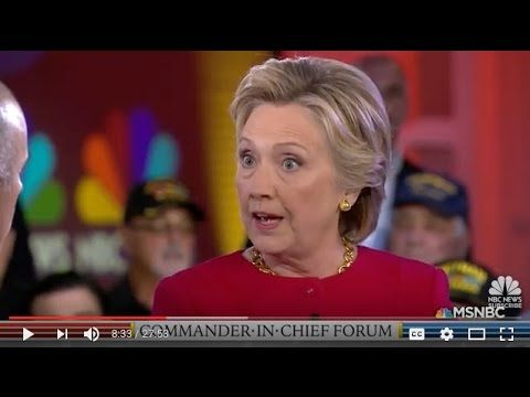 NBC Crew leak of Hillary's massive meltdown at Sept. 7th Forum..calls Donna Brazile brain dead buffalo | Politics