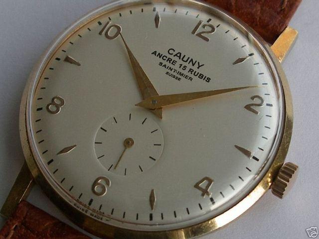 Cauny Prima Vintage   Relojes   Pinterest