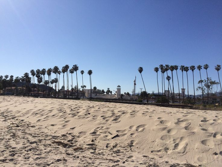 Santa Barbara Beach in Santa Barbara, CA