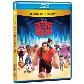 Blu-Ray 2D + Blu-Ray 3D - Detona Ralph
